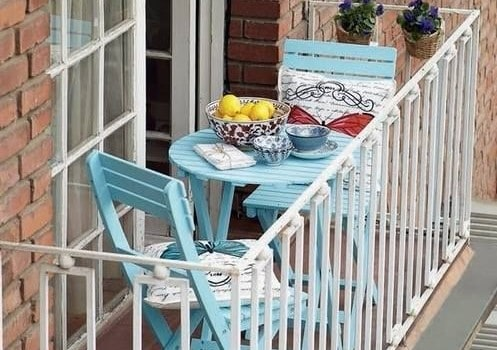 Balcone piccolo 20 idee per arredare guida giardino - Idee per arredare un giardino ...