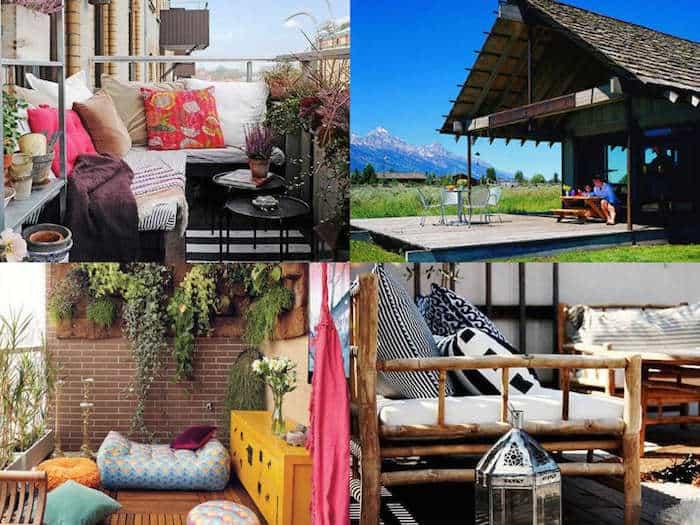 15 idee per arredare balconi terrazzi e verande guida for Giardini da arredare