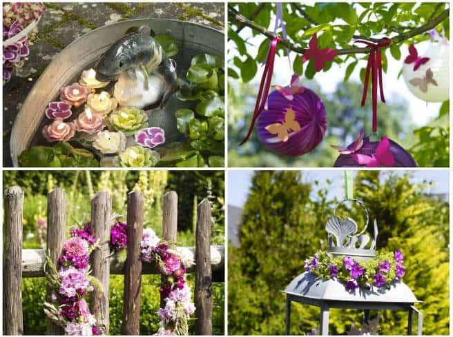 20 idee fai da te per decorare il giardino senza spendere for Poco costoso per costruire piani di casa