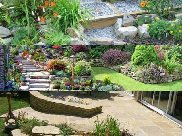 10 idee per decorare il giardino con la pietra  Guida Giardino