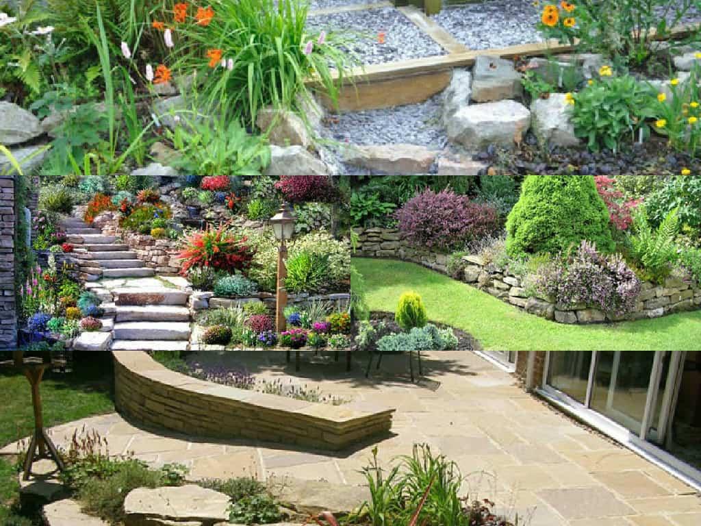 10 idee per decorare il giardino con la pietra guida for Arredo ville e giardini