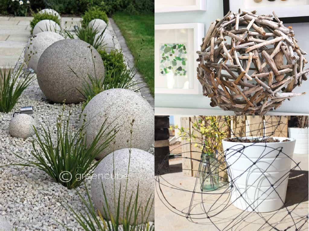 Decorare il giardino con le sfere guida giardino for Decorare il giardino
