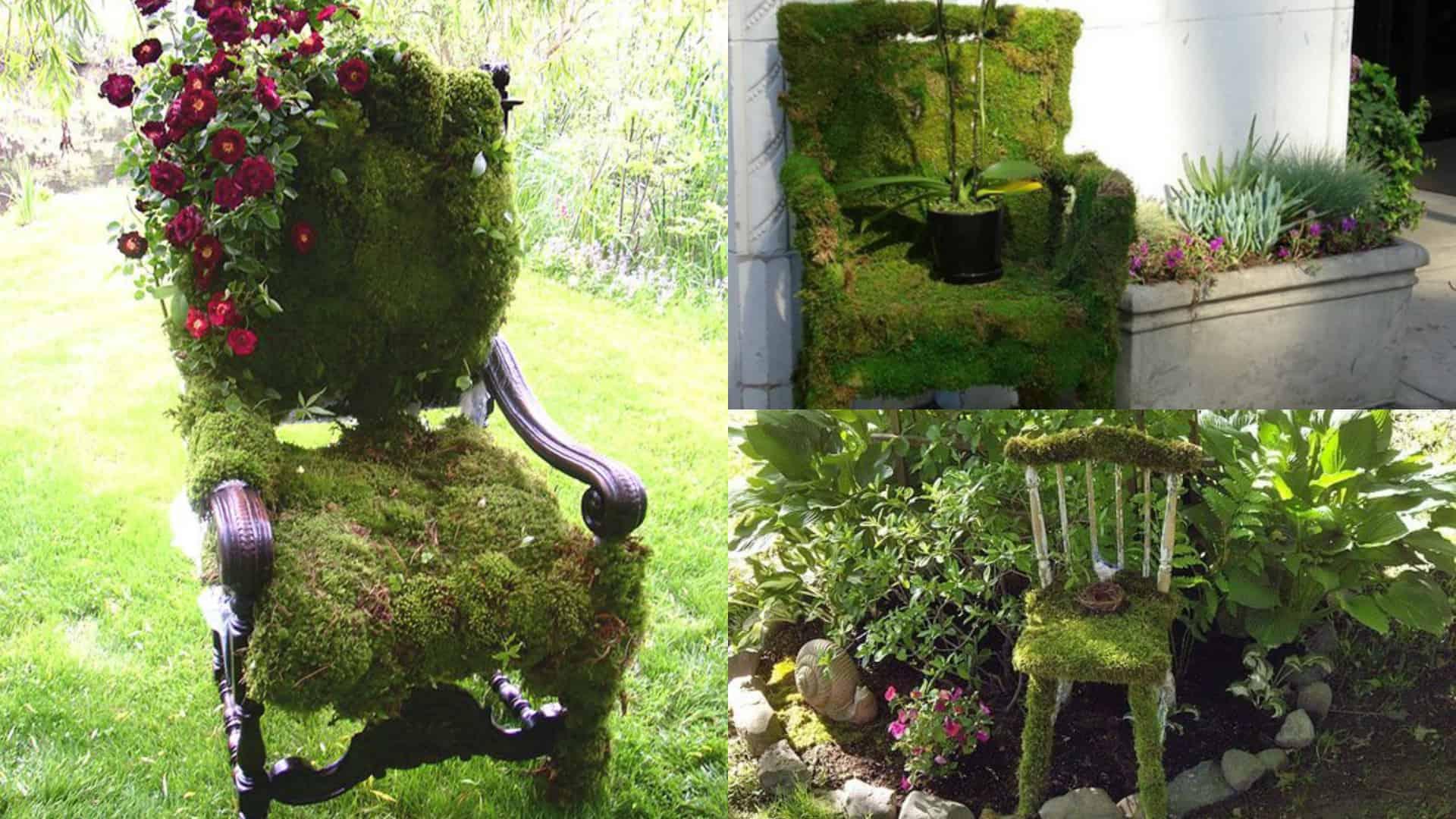 Design outdoor una sedia di muschio guida giardino for Outdoor giardino