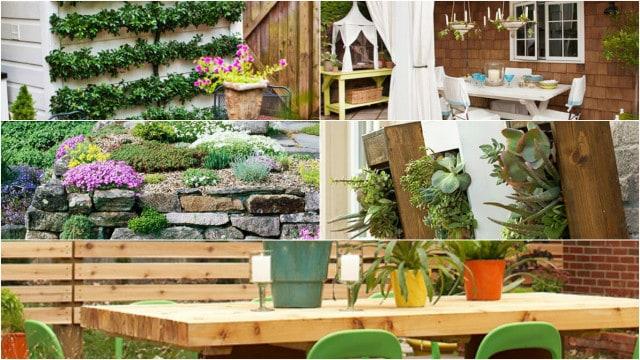 15 idee economiche per decorare il giardino guida giardino for Idee per giardino in terrazza