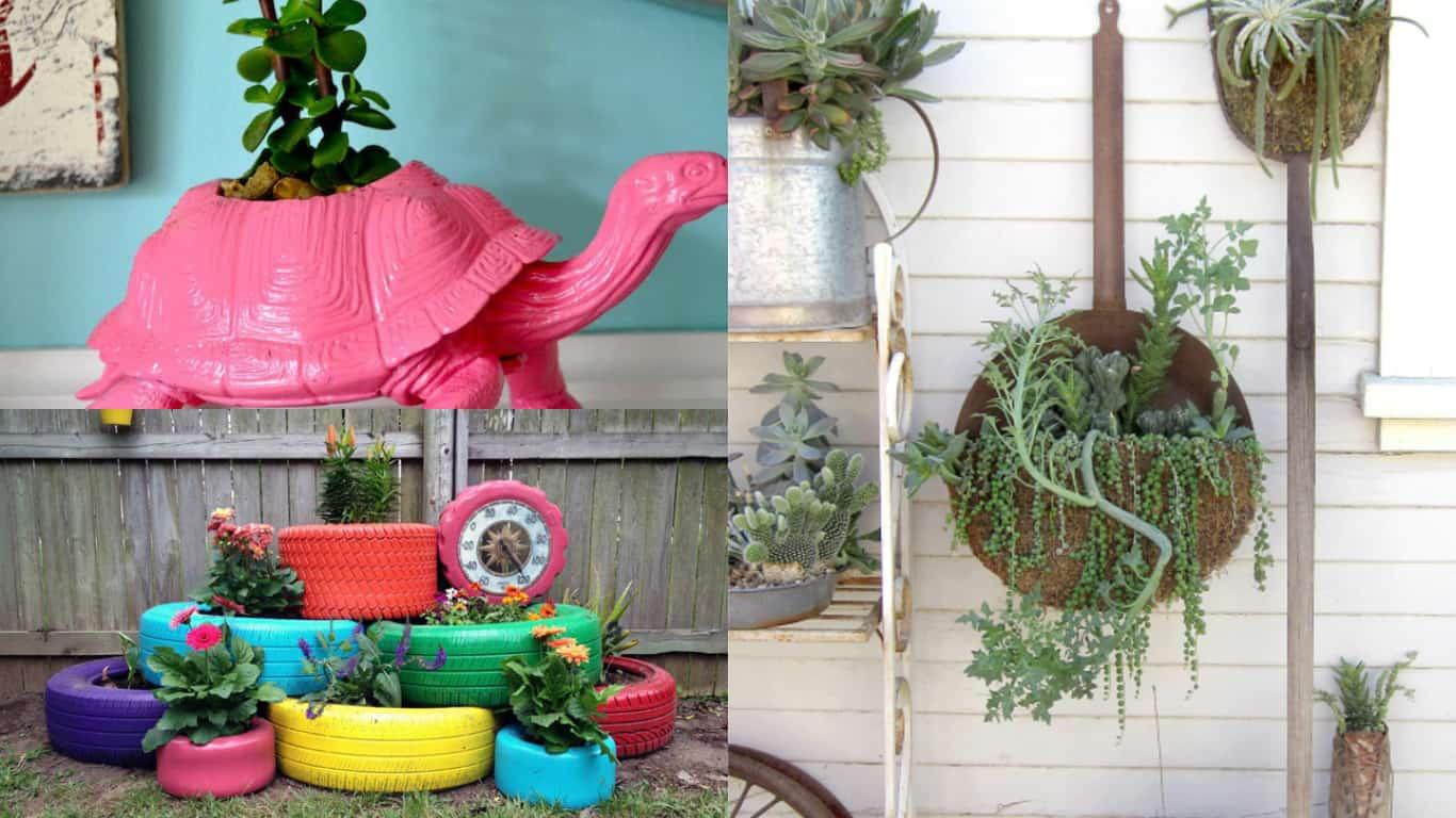 Fai da te 10 fioriere davvero originali guida giardino for Programmi per progettare oggetti