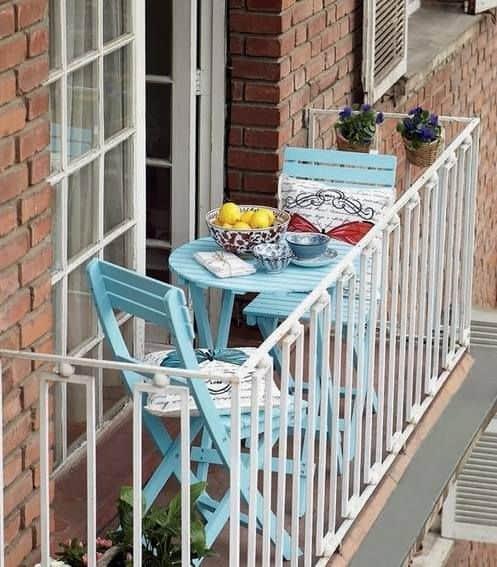 Balcone piccolo: 20 idee per arredare