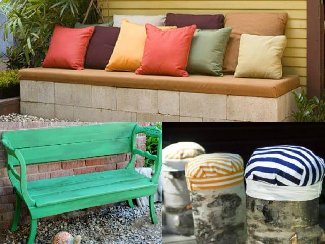 6 idee fai da te per realizzare mobili da giardino guida for Arredamento fai da te riciclo