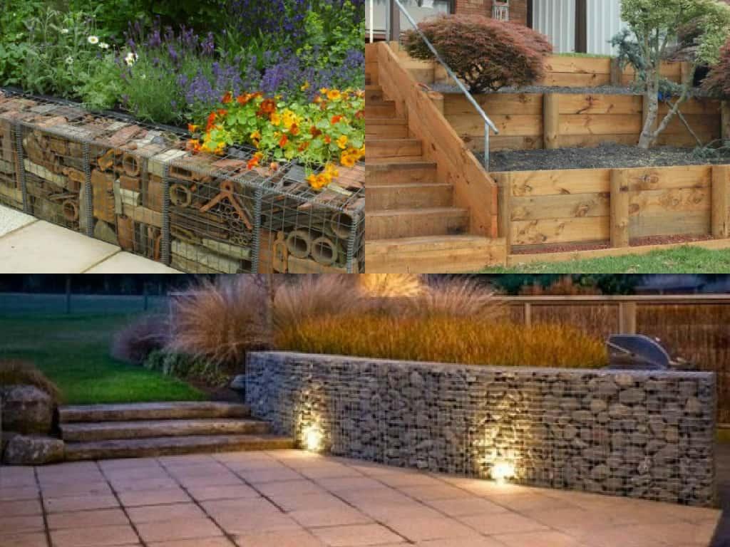 Fioriere Da Esterno In Cemento 7 idee per realizzare pareti di sostegno nel giardino