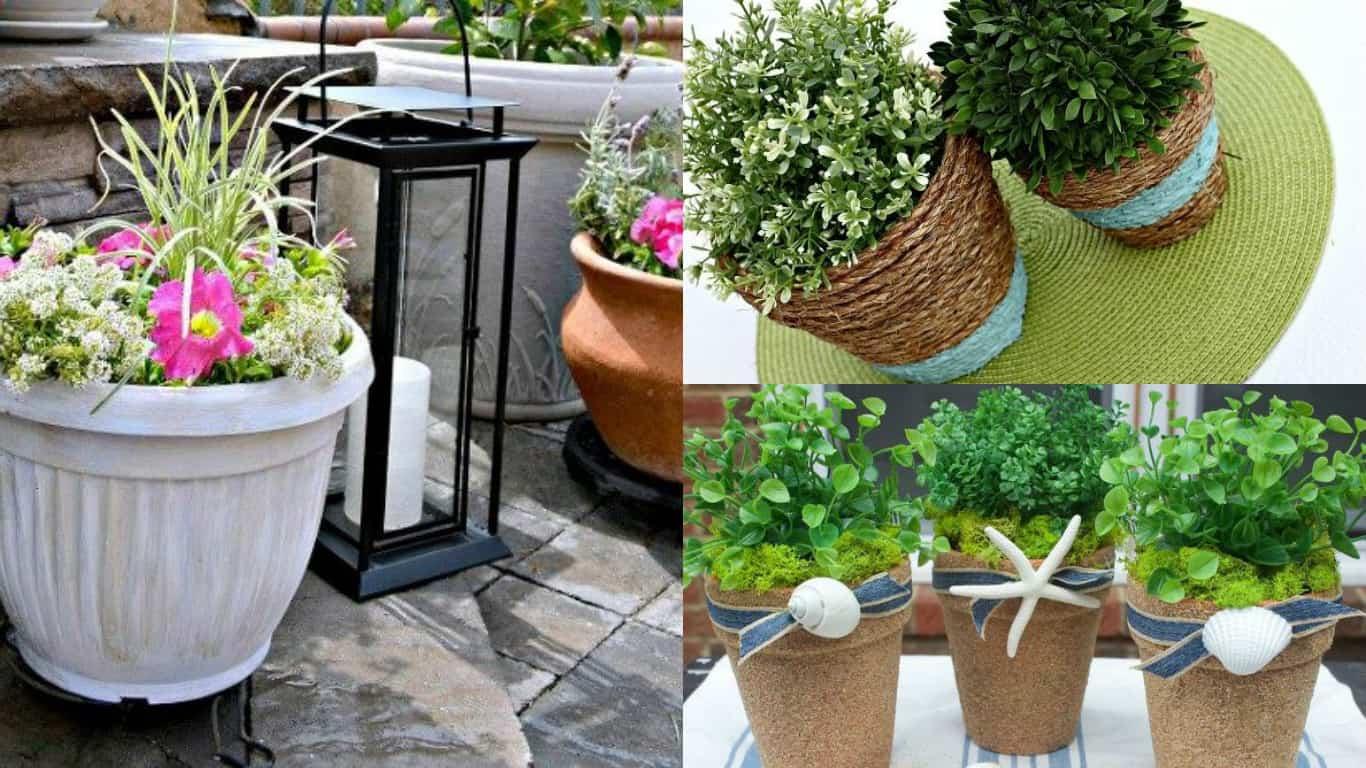Vasi In Terracotta Per Giardino 10 idee originali per trasformare i vecchi vasi in nuovi e
